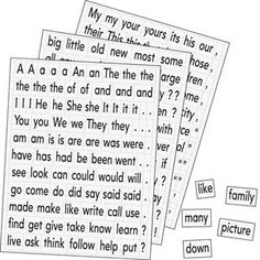 Magnetic Sight Words by Educational Insights Bought by Learning Resources Sight Word Practice, Sight Words, Sentence Building, Really Good Stuff, Early Reading, Teacher Supplies, Parts Of Speech, Reading Skills, Punctuation