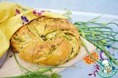 Хлеб с чесночными стрелками - кулинарный рецепт