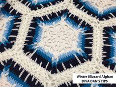 Crochet Winter Blizzard Afghan by Daniel Zondervan