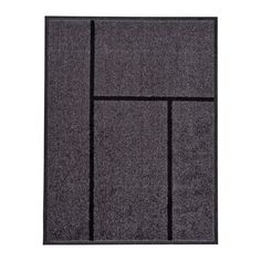 KÖGE Door mat IKEA The door mat is perfect for outdoor use since it is made to withstand rain, sun, snow and dirt.