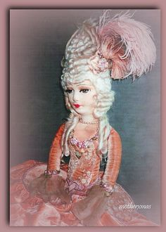 Peach velvet ring lady boudoir doll   Flickr - Photo Sharing!