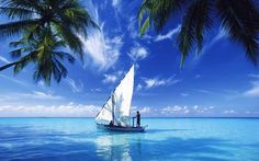 Sailing on the Indian Ocean - my next boat? Segel Im Wind, Dream Vacations, Vacation Spots, Strand Wallpaper, Places To Travel, Places To See, Sea Photo, All Nature, Green Nature