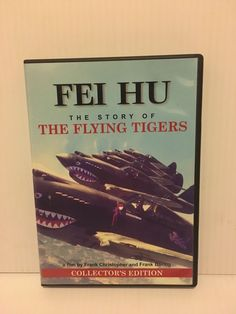 FEI HU Story Of The Flying TIGERS Collector's DVD Christopher and Boring 2003