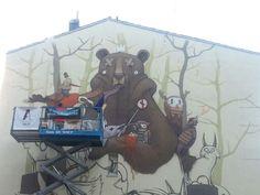 festival asalto . Zaragoza,  Spain. #streetart #graffiti