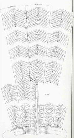 Crochet patterns: Crochet SummerTunic Dress Free Chart and Photo Instructions