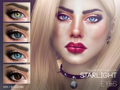 The Sims Resource: Starlight Eyes N110 by Pralinesims • Sims 4 Downloads