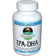 List of Vegan Vitamins and Supplements Vegan Vitamins, Fish Oil, Brain Health, Vegetarian, Pure Products, Healthy, Omega 3, Food, Essen