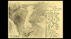 Annotated drawing by Mendelssohn from his visit to Scotland in 1829 which inspired his Scottish Symphony and Hebrides overture.