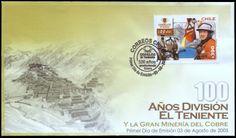 Chile 2005 - 100 Jahre Kupferbergbau El Teniente