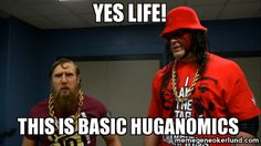 """B-Dazzle and Kurly Kane must have learned a thing or two from the """"Doctor of Thuganomics"""" #WWE"""