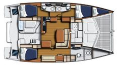 leopard 44 Owner Layout Sailing Gear, Sailing Catamaran, Yacht Boat, Sailing Ships, Sailboat Interior, Yacht Interior, Big Yachts, Family Boats, Sailboat Living