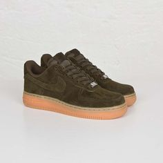 nike air force 1 camoscio nero / neri, scarpe nike air pinterest