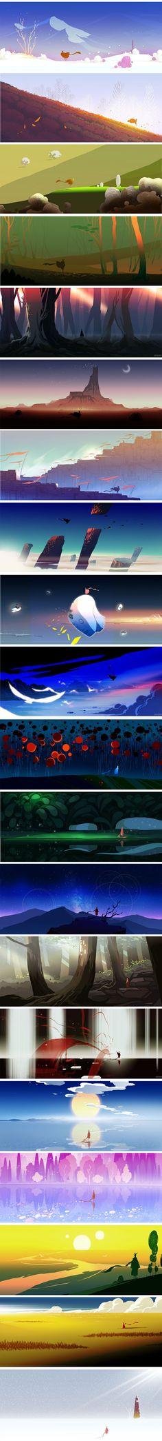 ideas for concept art landscape backgrounds inspiration Animation 3d, Animation Background, Art Background, Landscape Background, Game Design, Bg Design, Landscape Concept, Landscape Art, Landscape Design