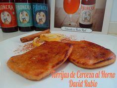 Torrijas de cerveza al horno - Recetas caseras y sencillas