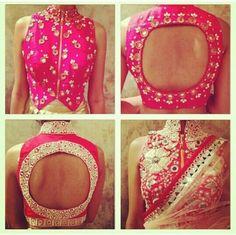 Lengha/sari blouse #classy