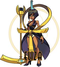 Skullgirls - Eliza