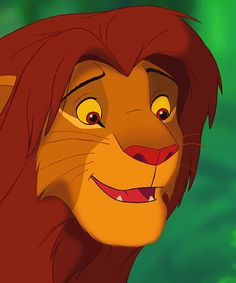 30 Day Disney Challenge, Day 4 - Favorite Prince: Simba (tied with Prince Phillip)