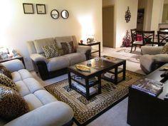 1000 images about animal print sofa on pinterest animal - Animal print living room decorating ideas ...