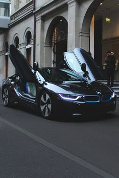 BMW i series | i8 | BMW | electric future | electric car | dream car | dream BMW | style | swag