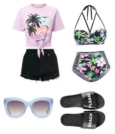 """""""Untitled #19"""" by mia-starr-zamora on Polyvore featuring Schutz, Miss Selfridge and Alice + Olivia"""