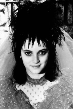 Winona Ryder in Beetlejuice, 1988. See more of our favourite horror heroines here: http://www.anothermag.com/current/view/4059/Vintage_Style_Special_Top_Ten_Horror_Film_Heroines
