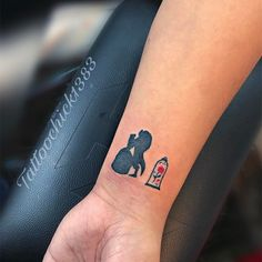 25 Small Beauty and the Beast Tattoos That Are Positively Charming