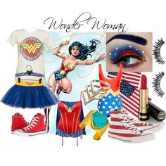dausy buchanan, 1930 style, abiti anni 30, the great gatsby, clarins lipstick, asos, topshop dress, mac cosmetic lipstick, dior mascara, red long wig, halloween costume, halloween inspiration, elisa bellino, theladycracy, mia wallace, wonder woman inspiration, converse all star, gucci lipstick, wonder woman bustier, faux lashes, wonder woamn make up, wonder woman tshirt, stella mccartney blouse,  fashion blog milano, fashion bloggers milano,