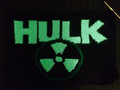 The Hulk Crochet Blanket.  Pattern is coming soon!