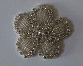 Appliques de cristal mariée accessoires mariage appliques appliques strass appliques strass, châssis garniture modèle : DSCN2402