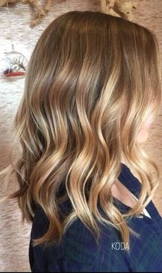 But no matter how many times you've dreamed up your perfect dress, makeup or hair, it can be hard to decide on what e… Honey Blonde Hair, Blonde Hair Looks, Brunette Hair, Belliage Hair, New Hair, Medium Hair Styles, Long Hair Styles, Hair Shades, Great Hair