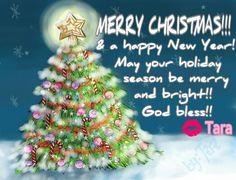 Merry Christmas & Happy New Year, by Tara