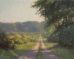 Monday Morning by Marc Hanson Oil ~ 16 x 20  Marc will be teaching here at Dot Courson workshops ( see www.dotcourson.com/workshops ) for his workshops this year October  and November, 2014!