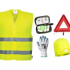 KIT40Kit de seguridad para vehículos Kit, Polyvore, How To Make, Outfits, Fashion, Work Wear, Proposals, Clothing Stores, Safety