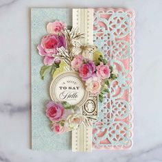 Cute Cards, Diy Cards, Handmade Cards, Simple Borders, Anna Griffin Cards, Decorative Borders, Borders For Paper, Different Patterns, Cardmaking