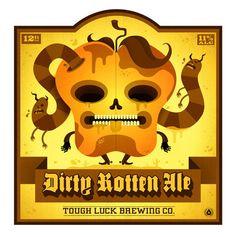 Tough Luck Beer Labels