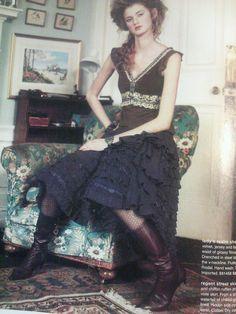 4f71caaeaa039 Anthropologie Regent Street Skirt by Lithe Size 2 $188   eBay Cotton Skirt,  Dark Fashion