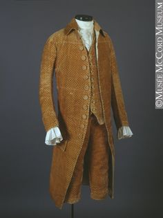 Men's Fashion After the Fall of New France (1760s-1780s) – All About Canadian History