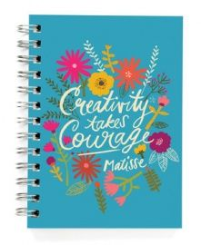 Ecojot journal `Creativity takes courage`