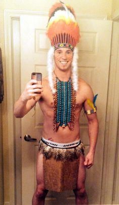Native American Costume for men. - parts of this would work