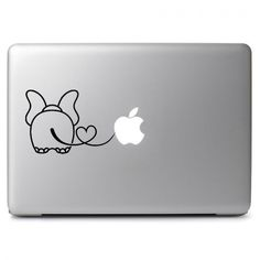 Love Elephant Vinyl Sticker Skin Decal for Macbook Air Pro Laptop Car Window