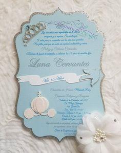 Cinderella Invitations, Paris Invitations, Quinceanera Invitations, Baptism Invitations, Be Design, Beautiful Paris, Cellophane Bags, White Envelopes, Invitation Design