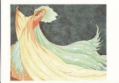 Illustration by Rudolf Koivun Printed Magnets, Fairy Queen, Vintage Fairies, Graphic Design Print, Fairy Art, Children's Book Illustration, Conte, Us Images, Digital Collage