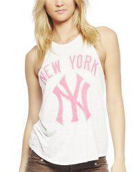 Wet Seal Women's New York YankeesTM Tank #WinatomAddmefastBot