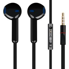 2016 Brand New Stereo Earphone For Lenovo Z51-70 Earbuds Headsets With Mic Remote Volume Control Earphones