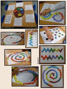 FIne Motor Activity: Spirals and other Patterns (free printable; from Stimulating Learning with Rachel)