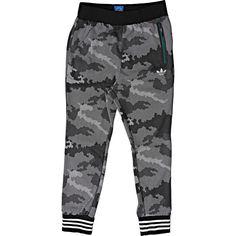 4b9773136e01 ADIDAS ORIGINALS LOW CROTCH PRINT TECH SWEATPANTS BLACK WHITE AB7999  95  Adidas Sweatpants