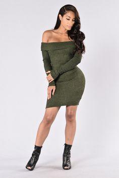 Ave Maria Dress - Olive - http://www.popularaz.com/ave-maria-dress-olive/