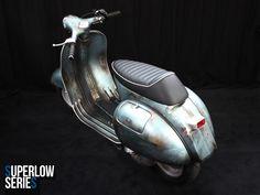 Superlow Series Rawstyle 15028 | Custom Vespa Galerie | CUSTOM VESPA | Scooter & Service Custom Vespa, Vespa Scooters, Vehicles, Car, Vehicle, Tools