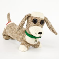 Make your own sock dog with our new step-by-step, video tutorial.  A great gift for all the dog lovers in your life.