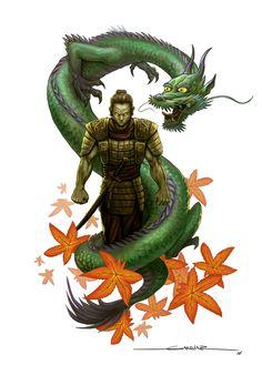 samurai vs dragon - חיפוש ב-Google